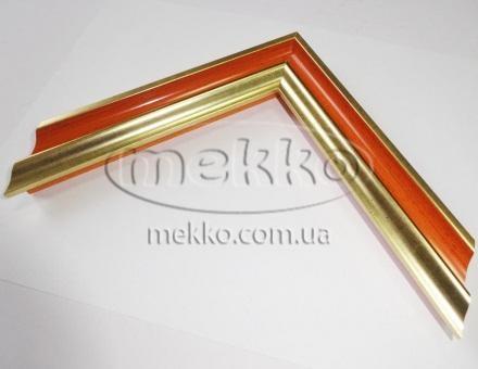 """Багет """"P sait gold orange"""" (2,7 cm) Napoli Italy  Миколаїв"""