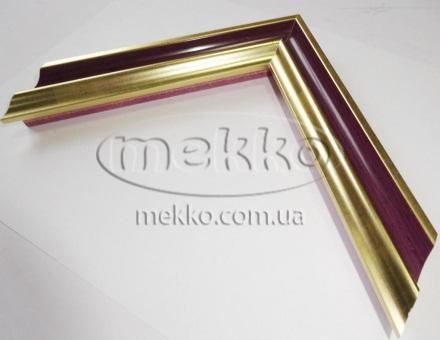 """Багет """"P sait gold violet"""" (2,7 cm) Napoli Italy  Миколаїв"""