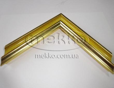 """Багет """"P sait gold yellow"""" (2,7 cm) Napoli Italy  Миколаїв"""