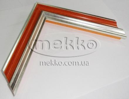 """Багет """"P sait silver orange"""" (2,7 cm) Napoli Italy  Миколаїв"""