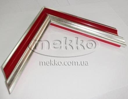"""Багет """"P sait silver red"""" (2,7 cm) Napoli Italy  Миколаїв"""